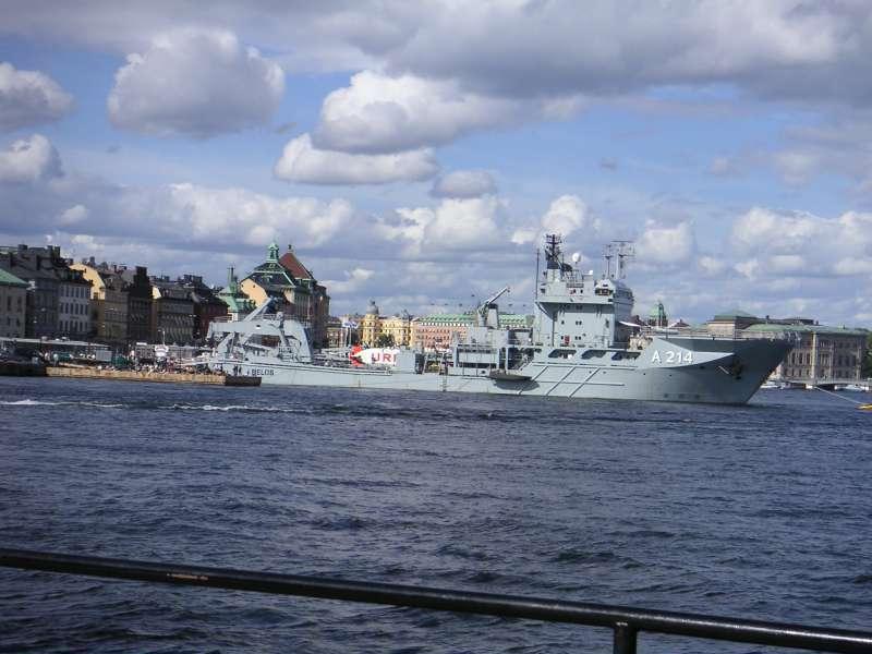 Image of SWEDISH WARSHIP A214