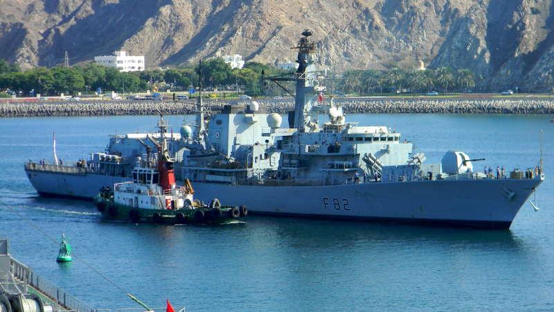 Image of HMS SOMERSET