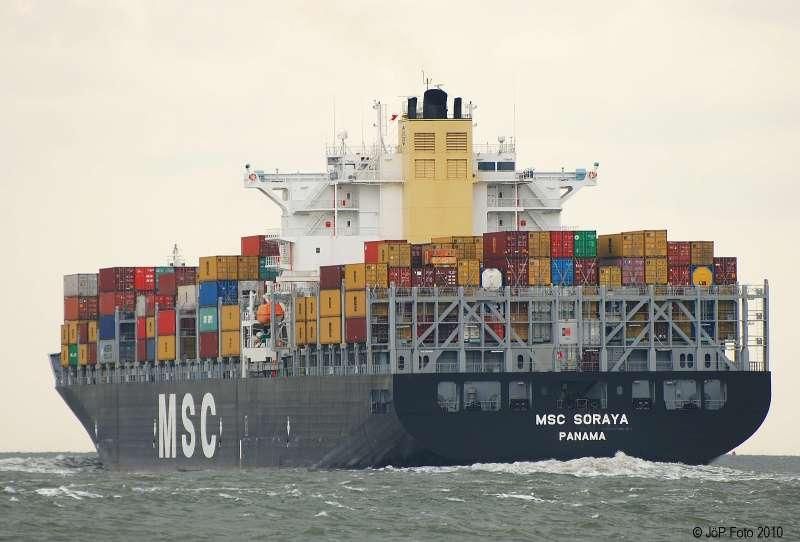 Image of MSC SORAYA