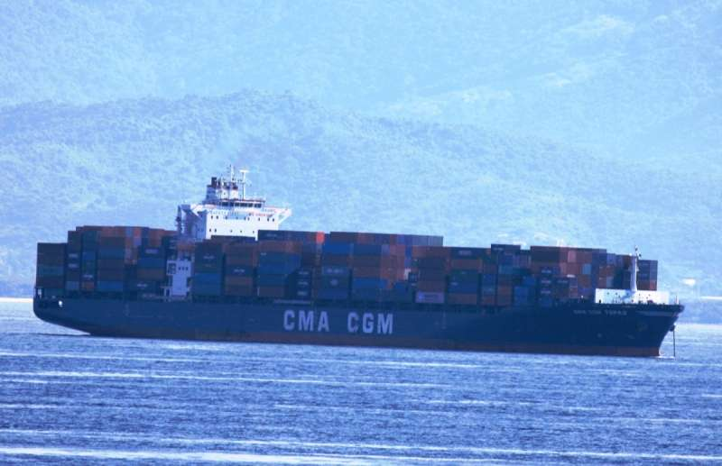 Image of CMA CGM TOPAZ