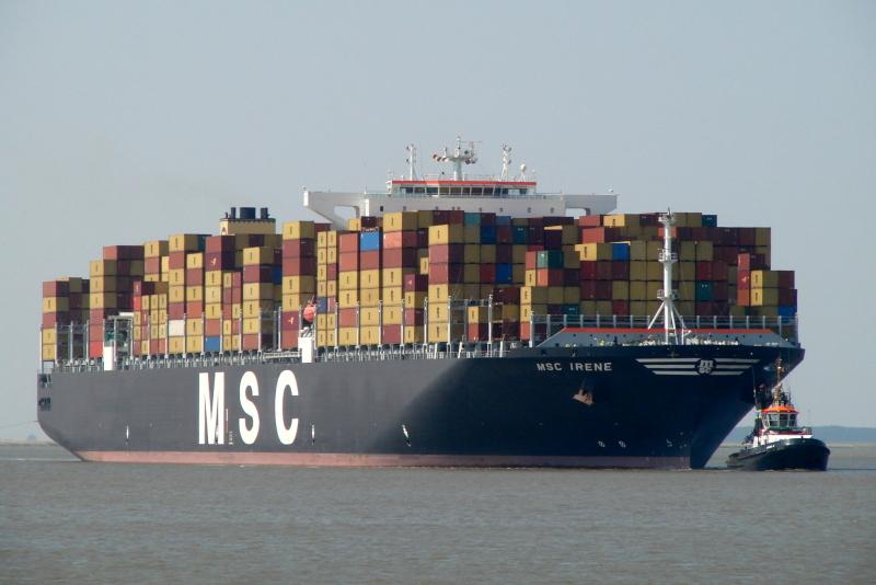 Image of MSC IRENE