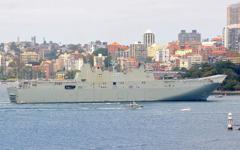 Image of HMAS CANBERRA