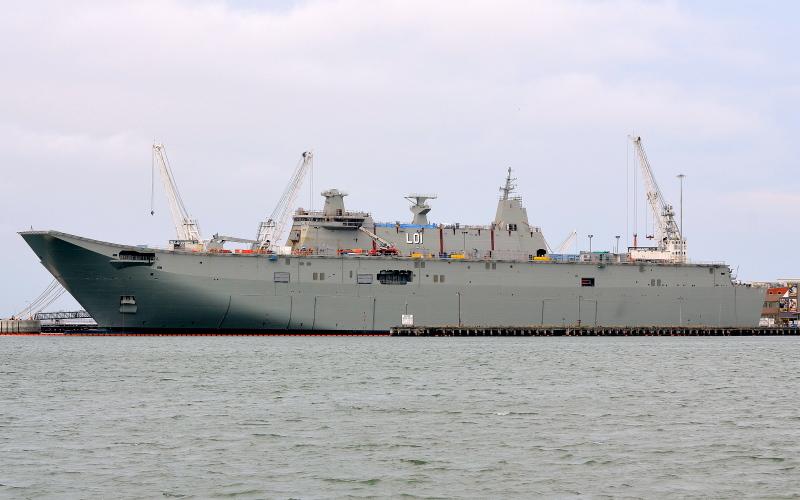Image of HMAS ADELAIDE