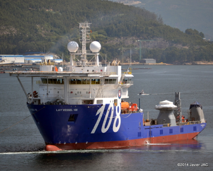 Image of LAY VESSEL 108